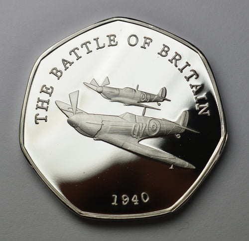 Spitfire, Battle of Britain - Silver