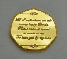 Load image into Gallery viewer, Thank You For Being My Bridesmaid - 24ct Gold