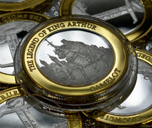 Load image into Gallery viewer, King Arthur, Excalibur - Silver & 24ct Gold