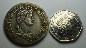 Roman Caligula Honour Strike with Agrippina
