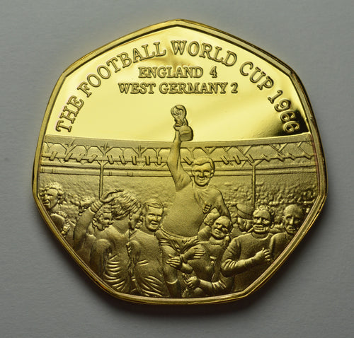 Football World Cup 1966 - 24ct Gold