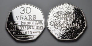 30th Birthday 'But Who's Counting' - Silver