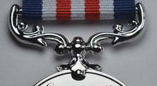 Load image into Gallery viewer, 25th Silver Wedding Anniversary Medal 'Distinguished Service & Bravery in the Field'