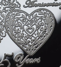 Load image into Gallery viewer, For You on Our 25th Wedding Anniversary - Silver