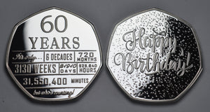 60th Birthday 'But Who's Counting' - Silver