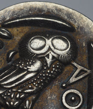 Load image into Gallery viewer, Ancient Greek Silver Athenian Tetradrachm Coin 450BC - Owl of Athena