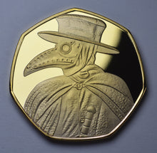 Load image into Gallery viewer, 'I Survived 2020' Plague Doctor - Gold