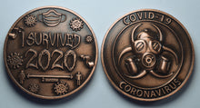 Load image into Gallery viewer, 'I Survived 2020' - Antique Copper