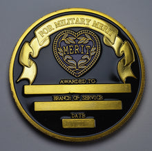 Load image into Gallery viewer, Purple Heart Commemorative - 24ct Gold, Enamel.