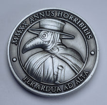 Load image into Gallery viewer, 'I Survived 2020' - Plague Doctor - Antique Nickel