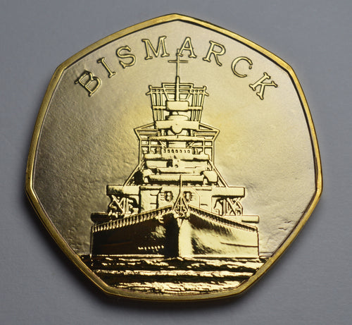 Bismarck - 24ct Gold