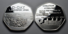 Load image into Gallery viewer, D-DAY Landings - Silver