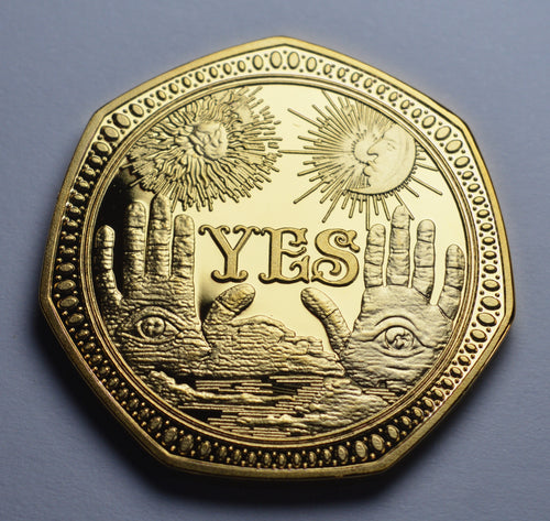 Supernatural YES/NO Decider - 24ct Gold