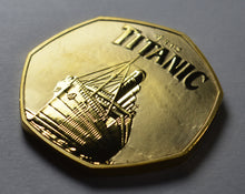 Load image into Gallery viewer, RMS Titanic - 24ct Gold
