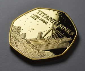 RMS Titanic - 24ct Gold