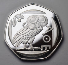 Load image into Gallery viewer, Owl of Athena - Silver