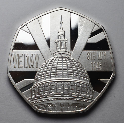 VE Day - Silver