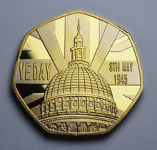 Load image into Gallery viewer, VE Day - 24ct Gold