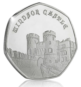 Full Set of the 2019 United Kingdom Castle Series (Fine Silver)