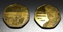 Load image into Gallery viewer, Winston Churchill, D-DAY - 24ct Gold