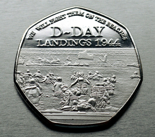 Winston Churchill, D-DAY - Silver