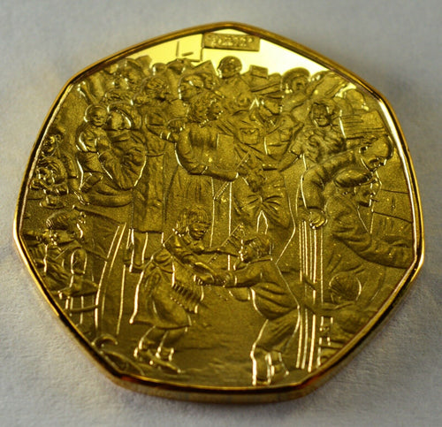 Winston Churchill, VE DAY - 24ct Gold