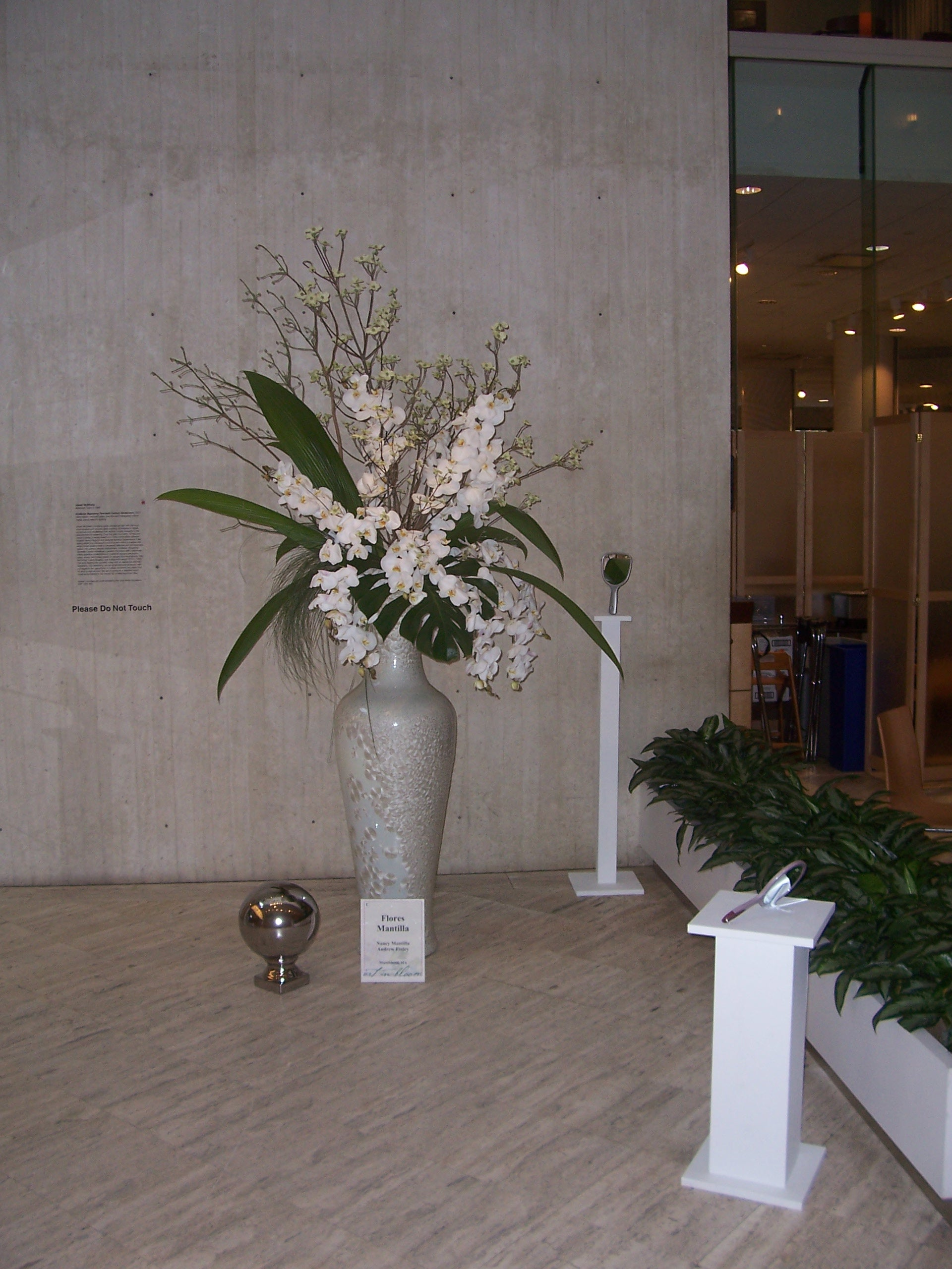 Museum of Fine Arts Floral Display