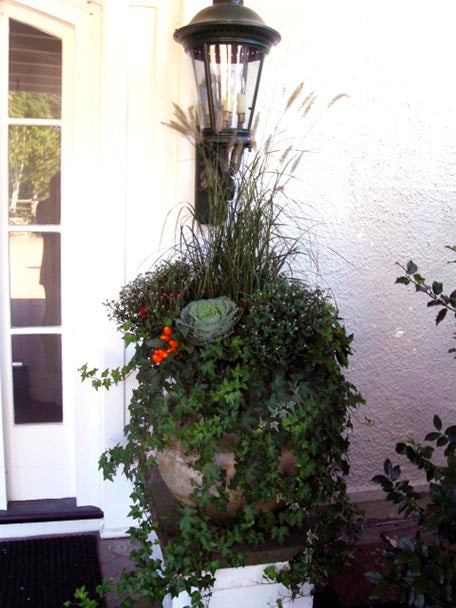 Marblehead Home Autumn Container garden