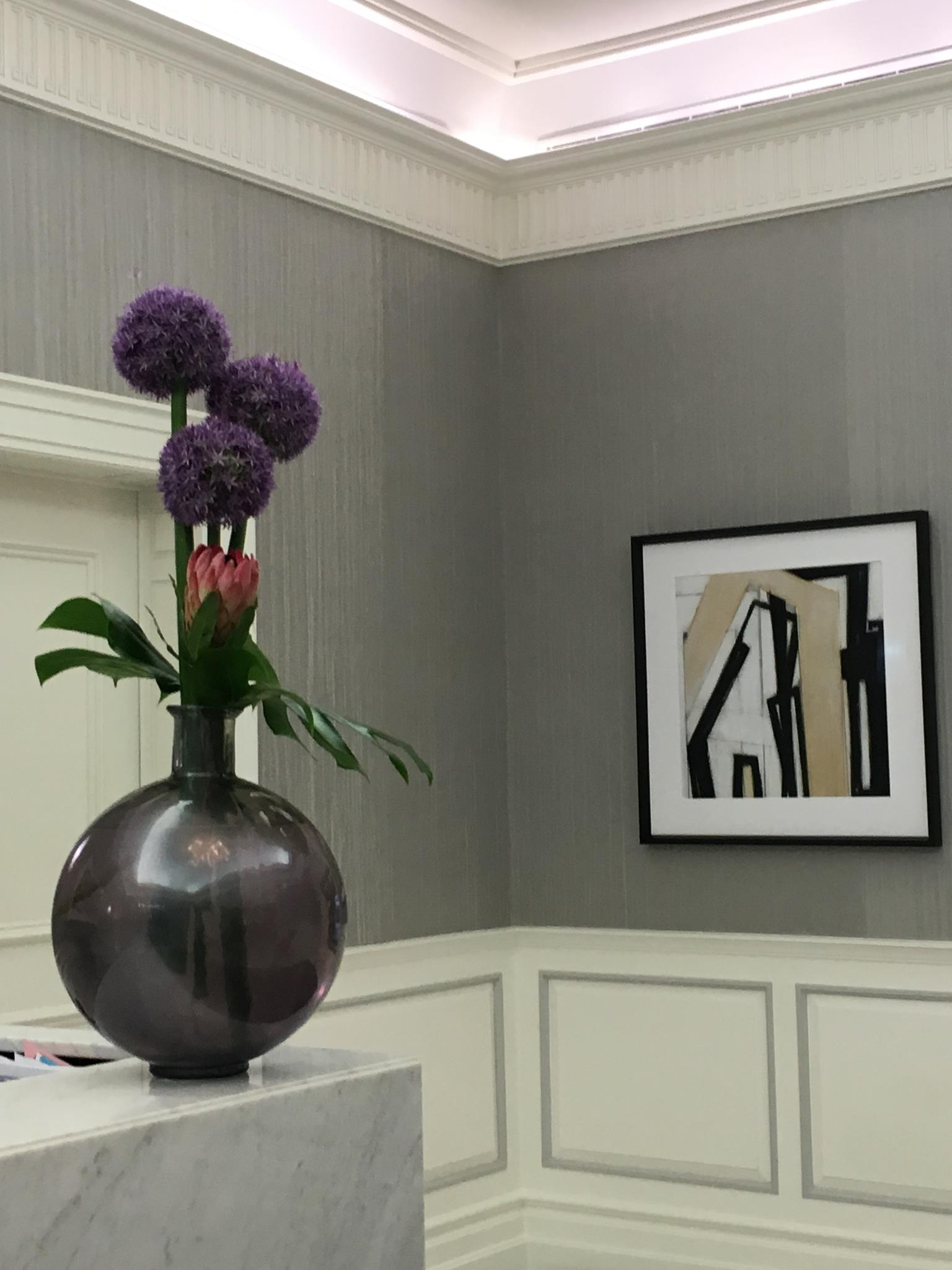 Residency Lobby Floral Arrangement