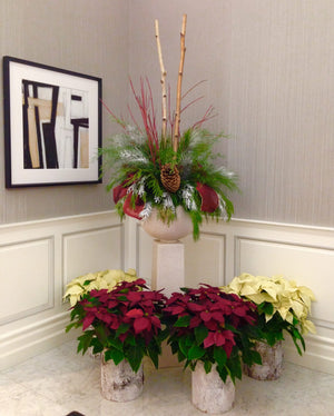 Christmas Decorations for Corporate Lobby