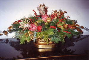 Christmas Arrangement for Mantle