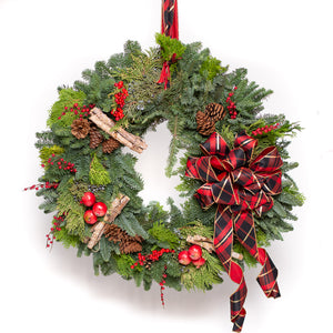 Deluxe Christmas Wreath 32""