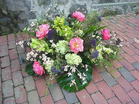 Peony and Orchid Casket