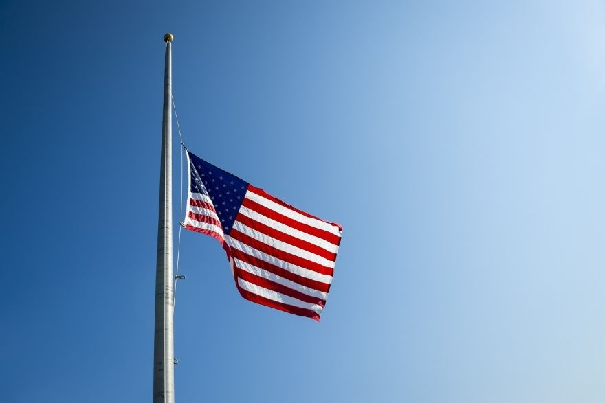The Difference Between Half-Mast and Half-Staff