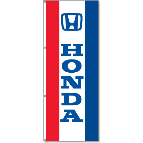 3' x 8' Vertical Logo Flags