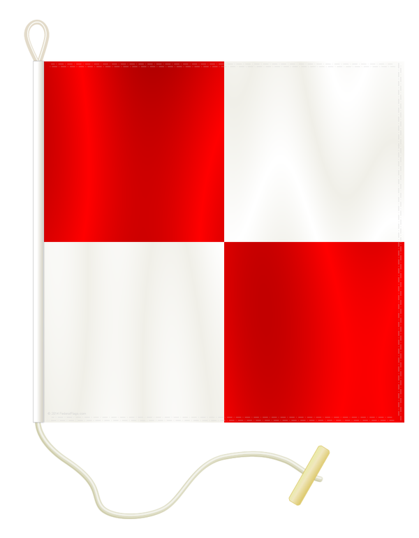 Signal Flag: U - UNIFORM
