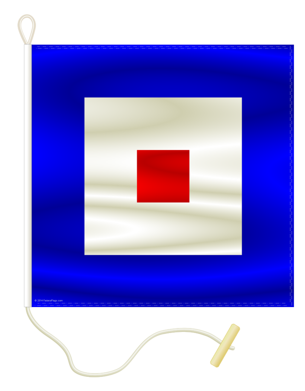 Signal Flag: W - WHISKY
