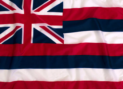 Outdoor Nylon  Hawaii Flag