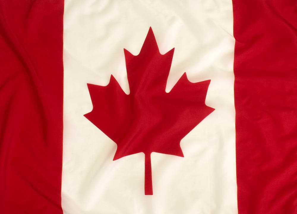 3x5ft Top Quality Canadian Flag