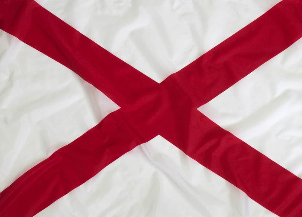 3x5ft  Alabama Flag (Most Popular Size)