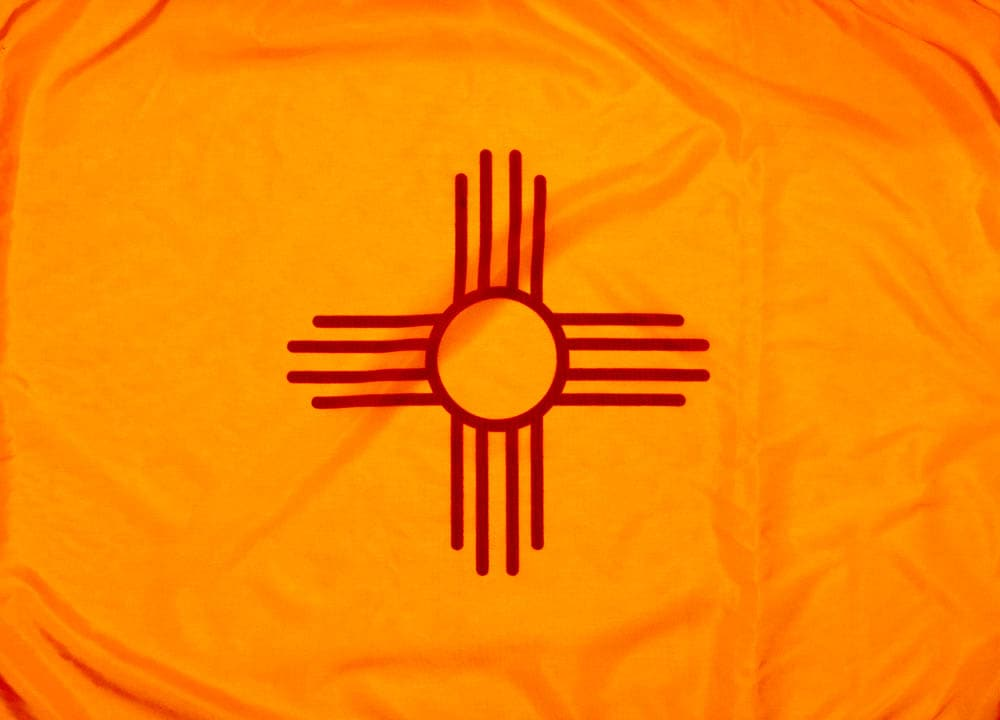 Outdoor Nylon New Mexico Flag - State Flag of New Mexico