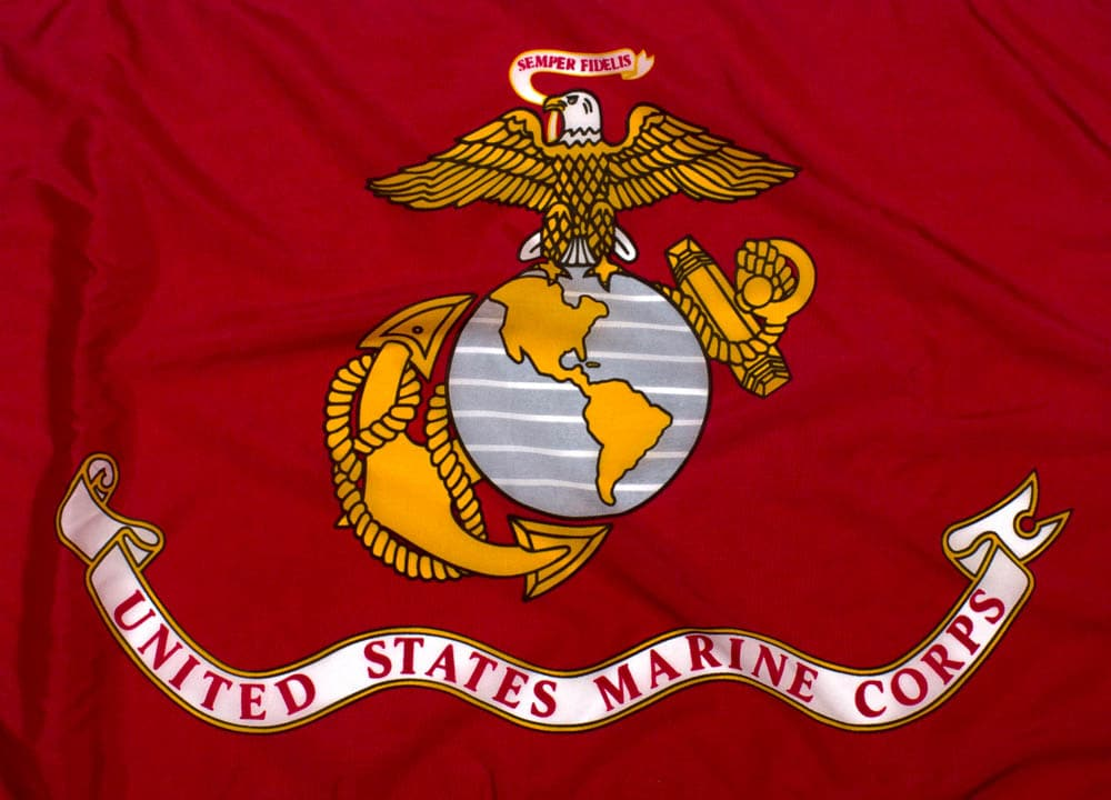 US Marine Corps Flag - Outdoor Nylon - emblem