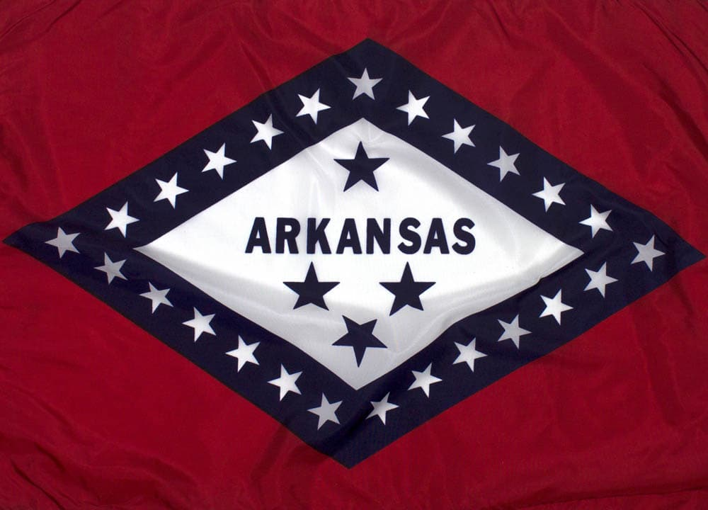 8x12ft  Arkansas Flag