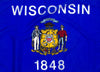 Outdoor Nylon Wisconsin Flag