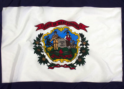 Outdoor Nylon West Virginia Flag