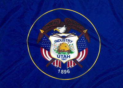 Outdoor Nylon Utah Flag