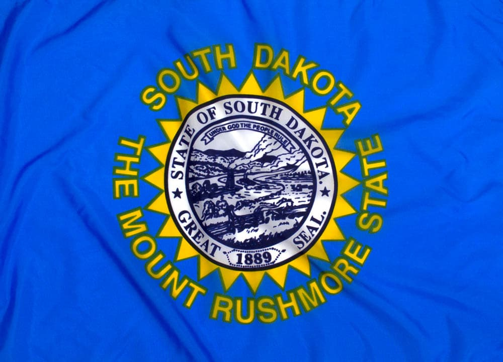Outdoor Nylon South Dakota Flag