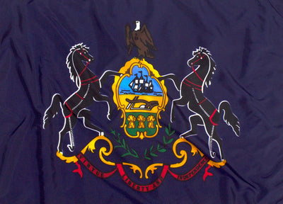 Outdoor Nylon Pennsylvania Flag