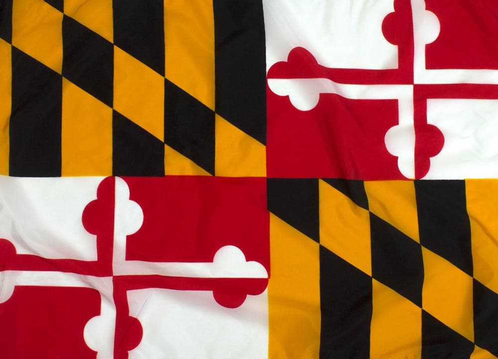 5x8ft Maryland Flag