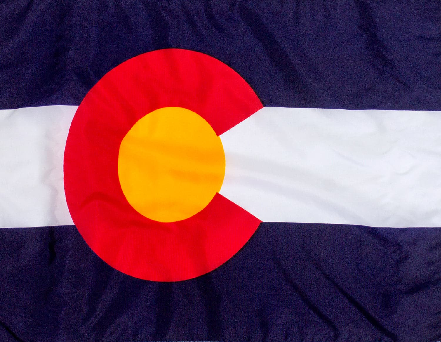 5x8ft  Colorado Flag (Popular Size)